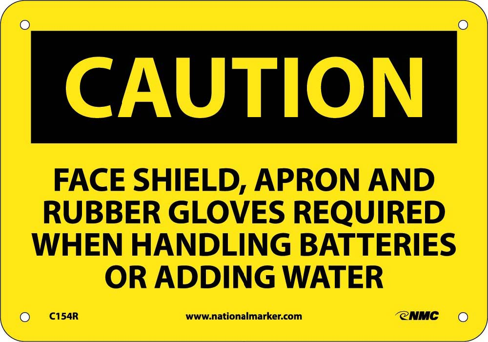 Caution Ppe Safety Sign