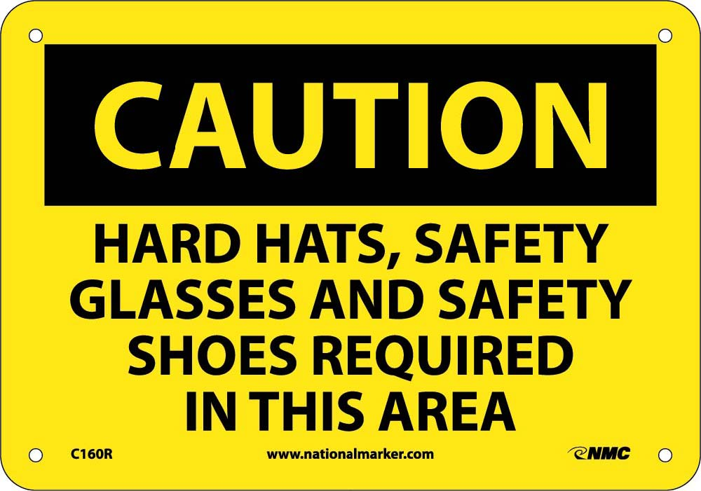 Caution Multi Protection Required Safety Sign