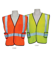 3A Safety C2421 5XL Ice Cool Mesh Vest Velcro Front Lime