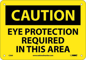 Caution Protection Required In This Area Sign