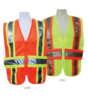 3A Safety - ANSI Certified Mesh Expandable DOT Safety Vest