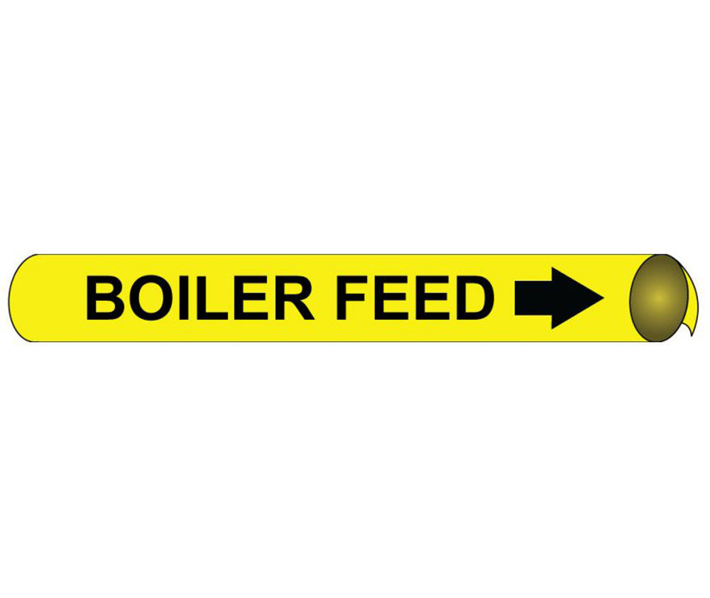 Boiler Feed Precoiled/Strap-On Pipe Marker