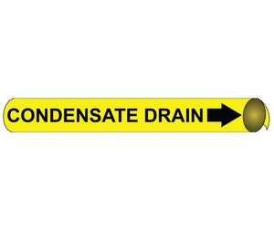 Condensate Drain Precoiled/Strap-On Pipe Marker