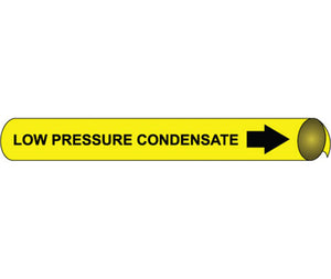 Low Pressure Condensate Precoiled/Strap-On Pipe Marker