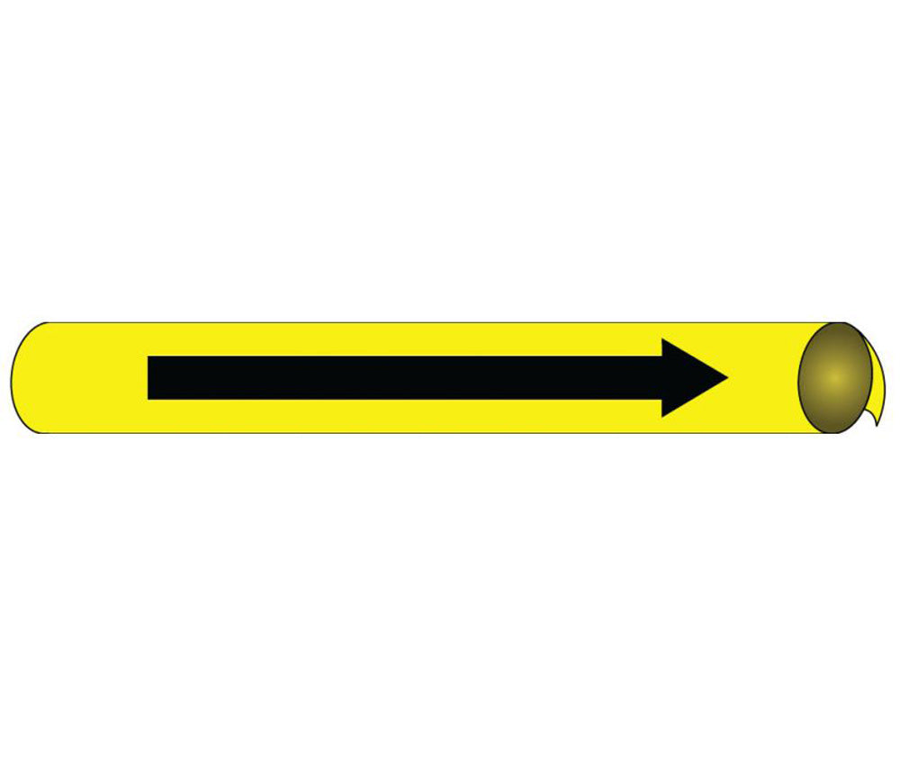 Direction Arrow Precoiled/Strap-On Pipe Marker