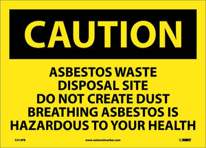 Asbestos Waste Disposal.. Sign