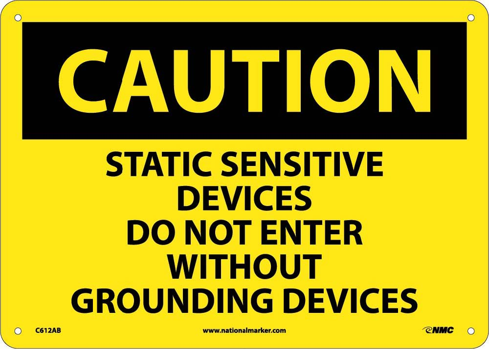 Static Sensitive Devices Do.. Sign