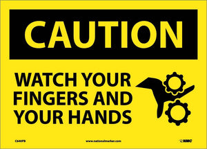 Watch Your Fingers And Your.. Sign