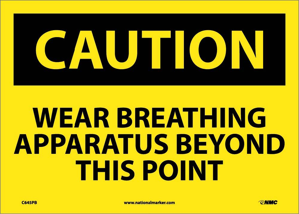 Wear Approved Breathing Appar... Sign
