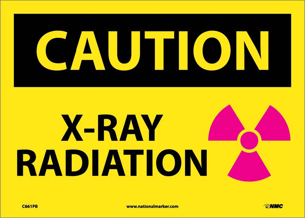 Caution X-Ray Radiation Sign