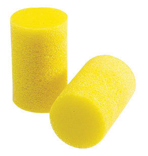 3M Small Single Use Classic Cylinder Shape PVC Foam Uncorded Earplugs