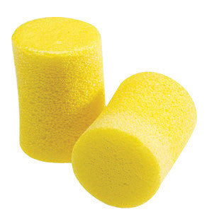 3M Single Use Classic Cylinder Shape PVC Foam Uncorded Earplugs