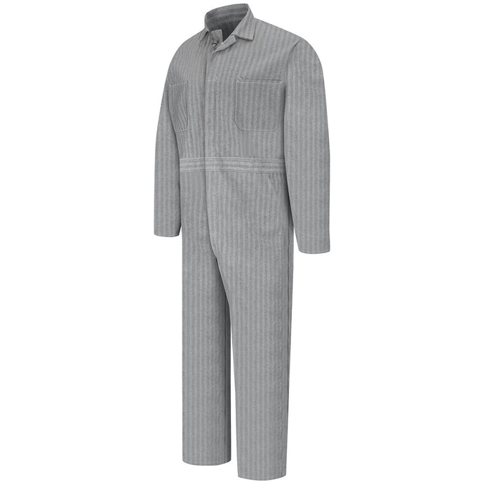 Red Kap Button-front Cotton Coverall