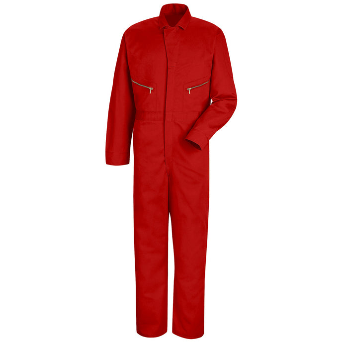 Red Kap Zip-Front Cotton Coverall