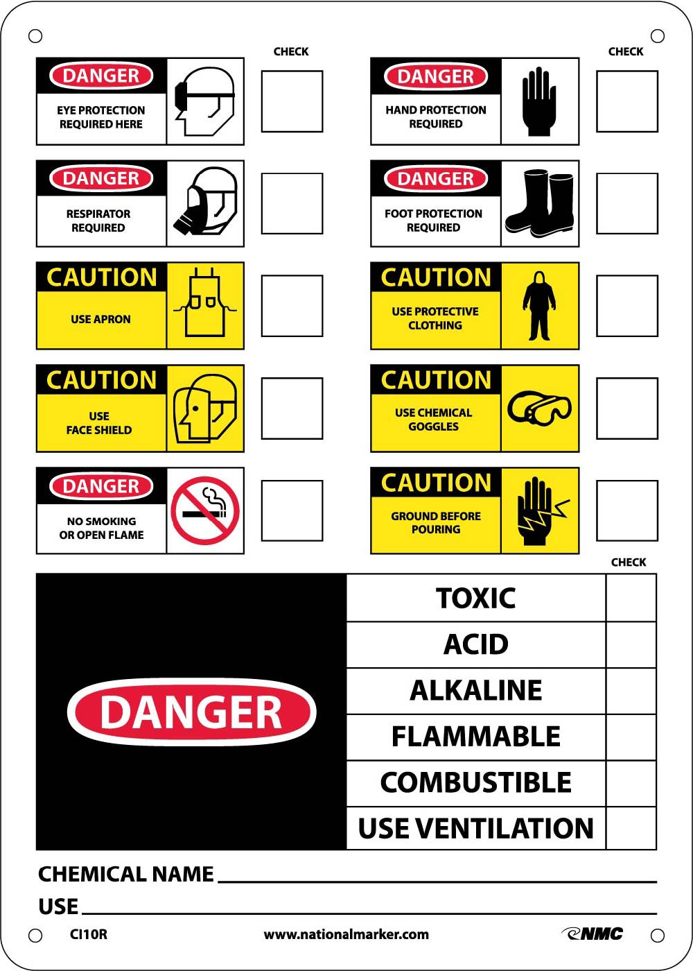 Chemical Id Label