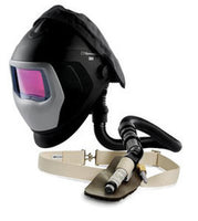 Airgas-3M™ Speedglas™ 9100 Air Black And Silver Auto Darkening Welding Helmet With 9100XXi Welding Filter, 9100XXi Welding Filter Kit And Versaflo™ Supplied Air Regulator V-100