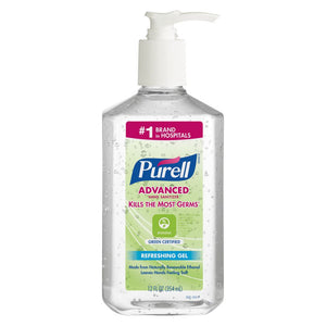 GOJO 12 Ounce Bottle Clear PURELL Fragrance-Free Hand Sanitizer