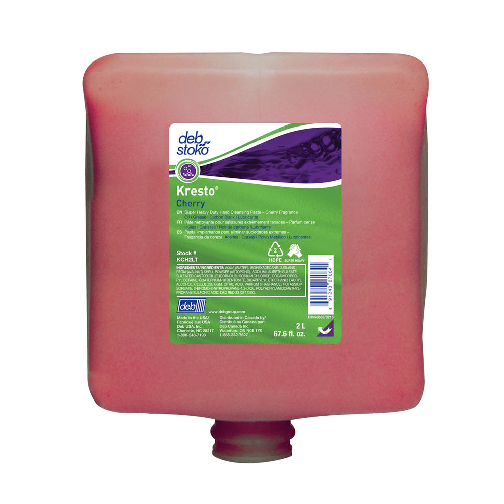 Deb 2 Liter Refill Red Kresto Scented Hand Cleaner