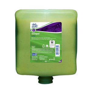 Deb 2 Liter Refill Green Solopol Scented Hand Cleaner (4 Hand Cleaners - Pack)