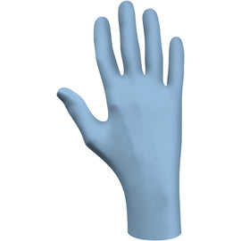 SHOWA™ Size 3X Blue N-DEX® 4 mil Latex Free Nitrile Lightly Powdered Disposable Gloves (100 Gloves Per Box)