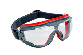 3M™ Solus™ 500 Indirect Vent Splash Goggles With Gray Frame And Clear Anti-Fog Lens