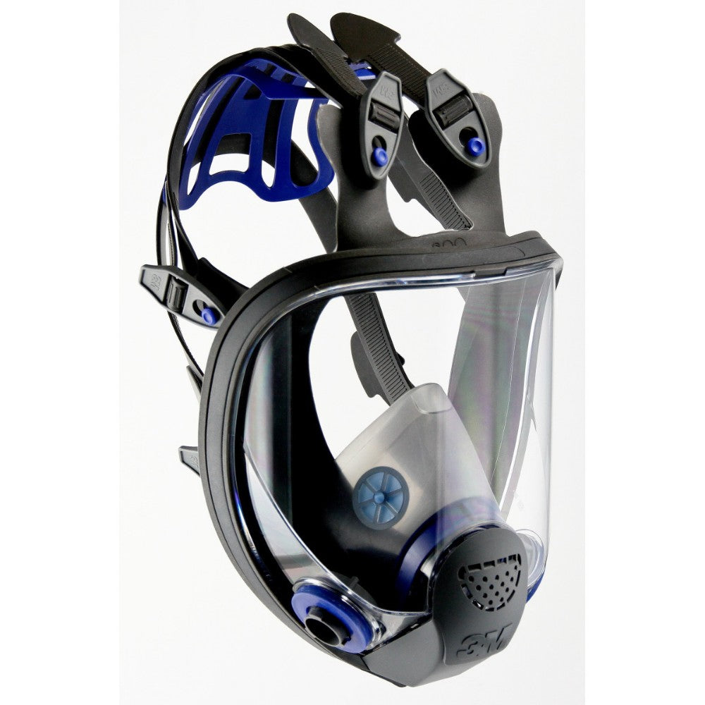 3M Full Face Ultimate FX Air Purifying Respirator With 6 Point Harness