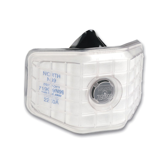 Honeywell Standard 7190 Series Half Face Welding Air Purifying Respirator With 1 N99 Filter