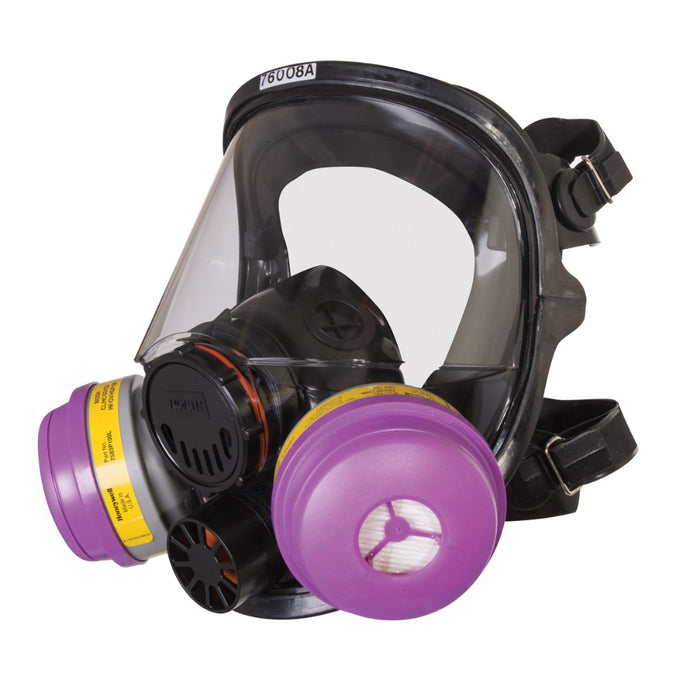 Honeywell 7600 Series Full Face Silicone Air Purifying Respirator