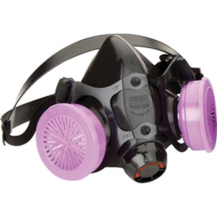 Honeywell 7700 Series Half Face Silicone Air Purifying Respirator