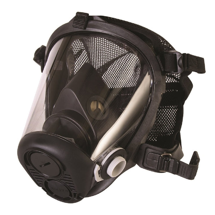 Honeywell RU6500 Series Full Face Silicone Air Purifying Respirator With Mesh Headnet