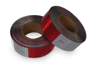 Conspicuity Reflective Tape Red/White - Roll