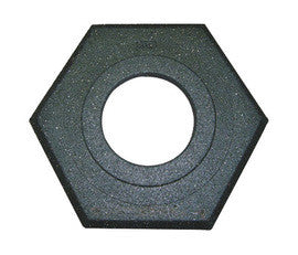 Cortina Safety - Black Recycled Rubber Channelizer Cone Base