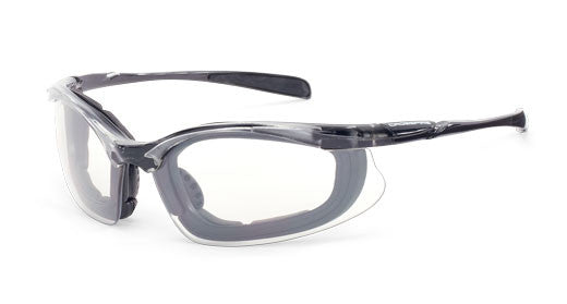 Concept Indoor/Outdoor Anti-Fog Lens Crystal Black Frame Foam Lined