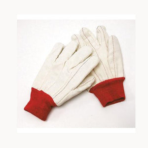 Cotton/Poly Double Palm Gloves