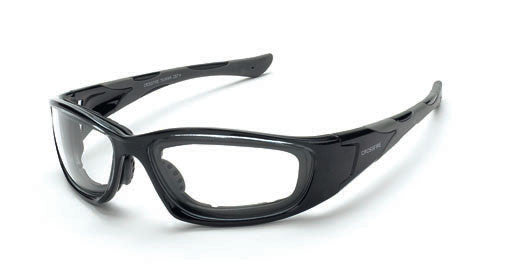 MP7 Clear Anti-Fog Lens Crystal Black Frame