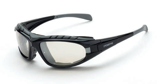 Diamondback Indoor/Outdoor Clear Lens Shiny Black Frame Foam Lined