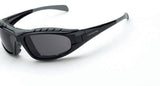 Diamondback Smoke Anti-Fog Lens Shiny Black Frame Foam Lined