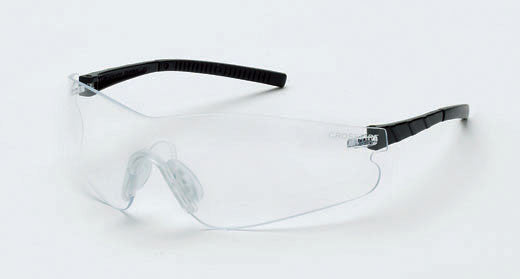 Blade Clear Anti-Fog Lens Black Temple