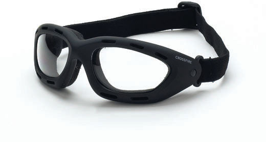 Elastic Goggle Clear Anti-Fog Lens Soft Touch Frame
