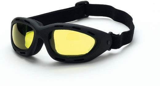 Elastic Goggle Yellow Anti-Fog Lens Soft Touch Frame