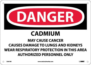 Cadmium Cancer Hazard Can Cause Lung And Sign