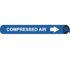 Compressed Air Precoiled/Strap-On Pipe Marker