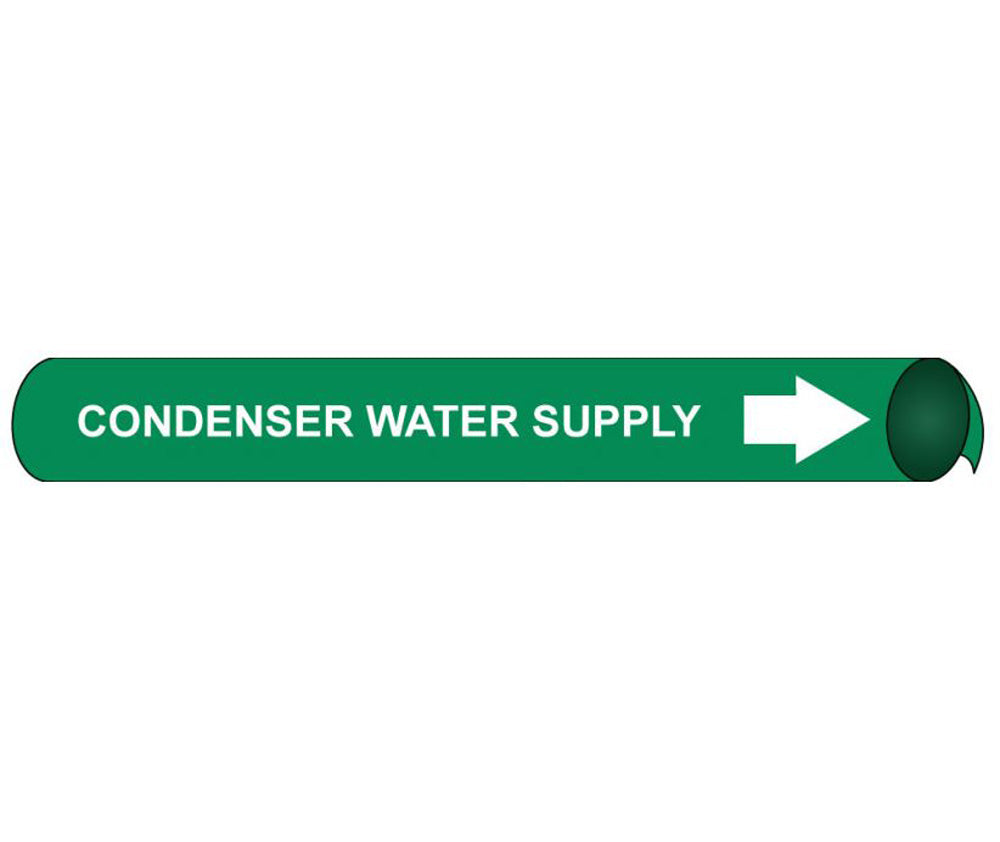 Condenser Water Supply Precoiled/Strap-On Pipe Marker