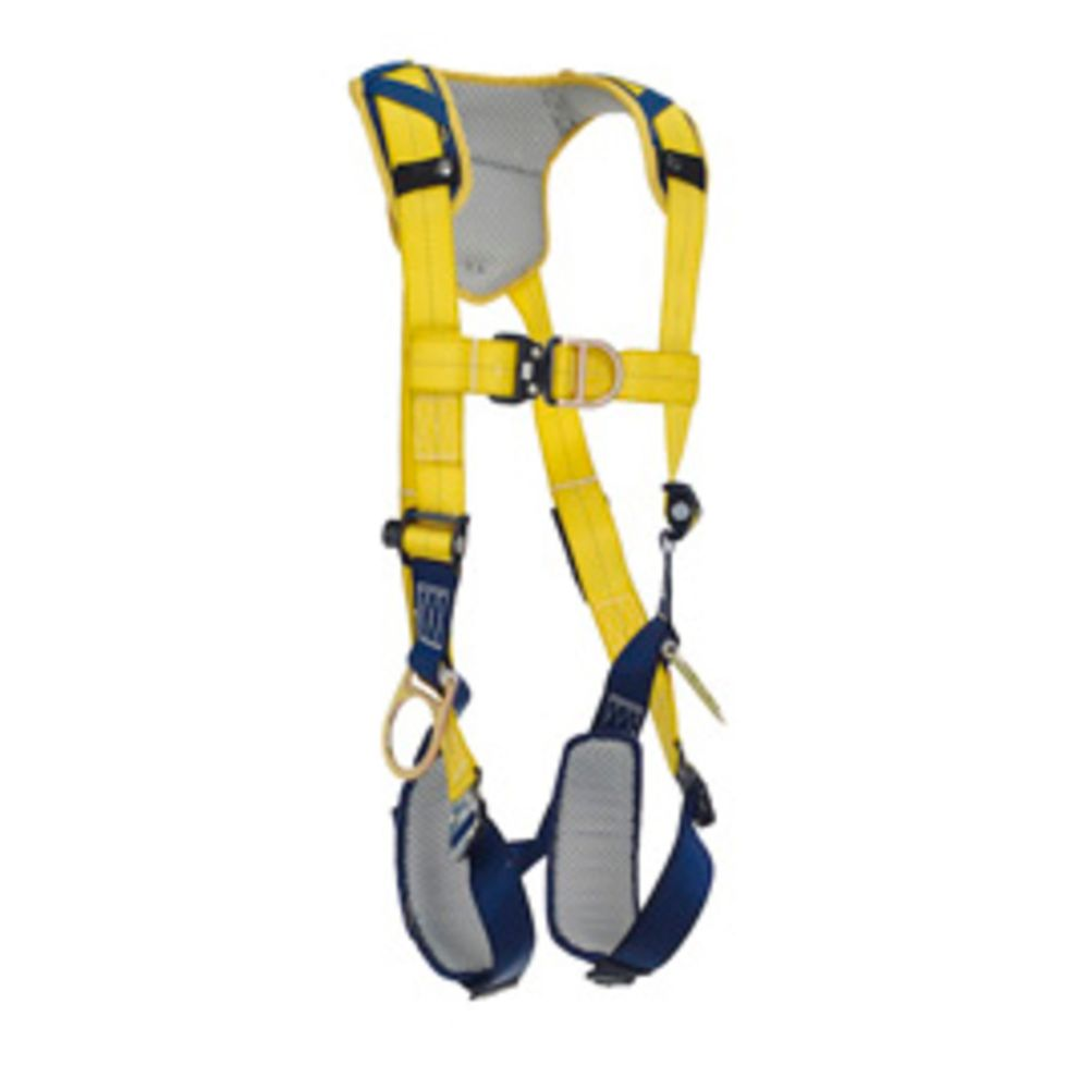 3M DBI-SALA X-Large Delta Vest Style Positioning/Climbing Harness With Back, Front And Side D-Rings, Quick Connect Buckle Leg And Chest Straps And Comfort Padding