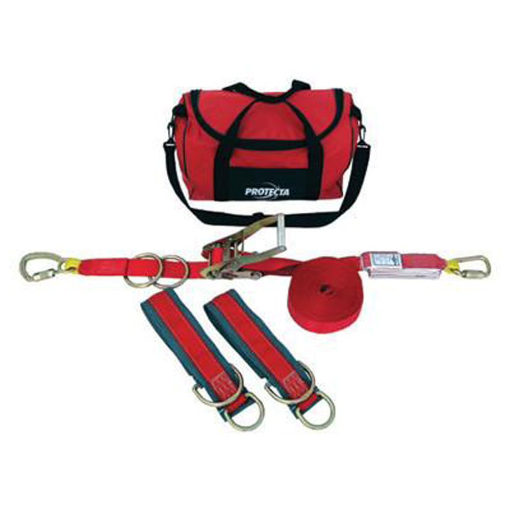 DBI-SALA - 60' PRO-Line Temporary Horizontal Lifeline System With Carry Bag