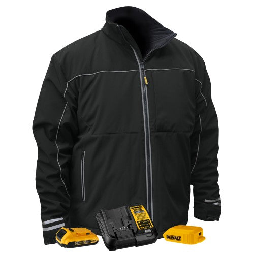 RADIANS-DEWALT DCHJ072 LIGHTWEIGHT HEATED SOFT SHELL WORK JACKET-KIT