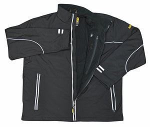RADIANS-DEWALT DCHJ072 LIGHTWEIGHT HEATED SOFT SHELL WORK JACKET-BARE