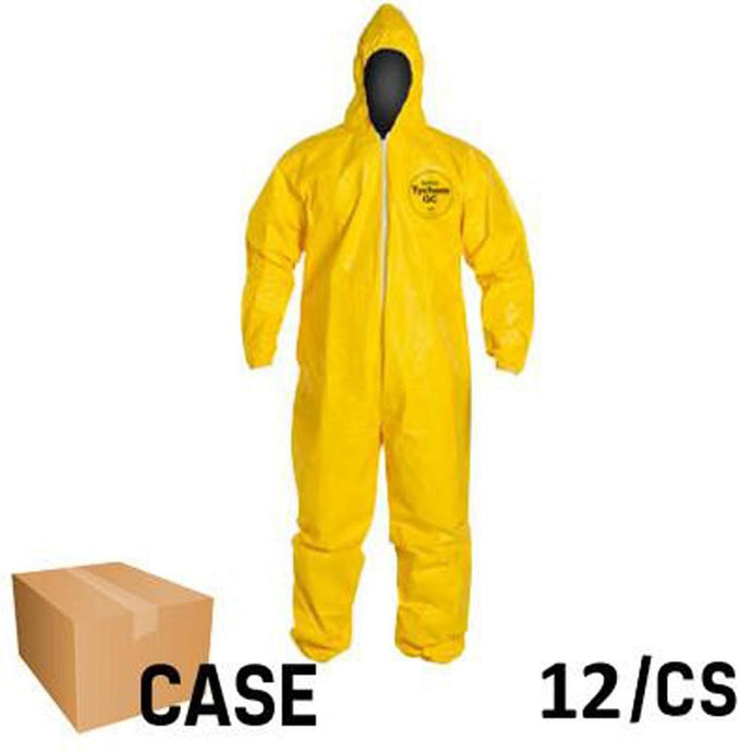 DuPont - Tychem Coverall with Hood and Socks - Case