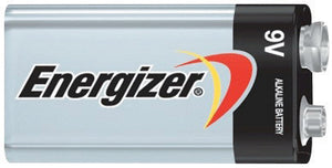 Energizer Eveready MAX 9 Volt Alkaline Battery With Miniature Snap Terminal