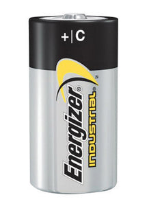 Energizer Eveready 1.5 Volt C Alkaline Battery With Flat Contact Terminal